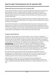 Du kan læse et notat vedr. status på - Danske Advokater