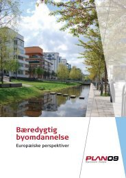 Bæredygtig byomdannelse - Europæiske perspektiver