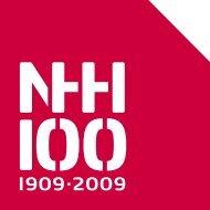 NHH 100 år