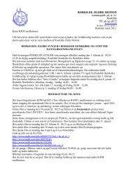 ROSKILDE ÆLDRE MOTION Lammegade 36, st. tv ... - Callnet