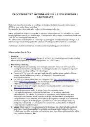 overdragelsesproceduren for salg af lejlighed - AB Enghave