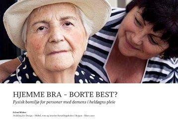 hjemme bra – borte best? - Globe at KHiB - Kunsthøgskolen i Bergen