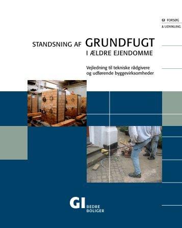 standsning af grundfugt i ældre ejendomme - Grundejernes ...