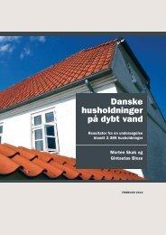 Danske husholdninger på dybt vand - Boligøkonomisk Videncenter