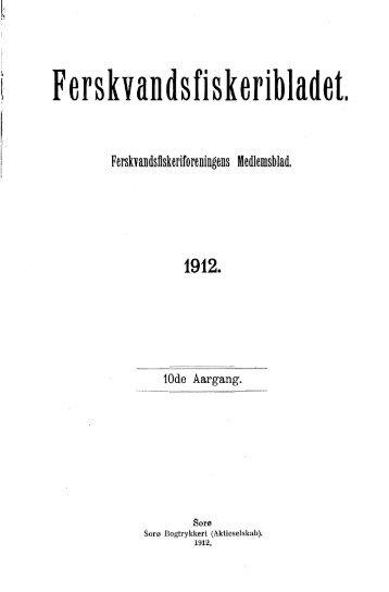 Ferskvandsfiskeribladet 1912 - Runkebjerg.dk