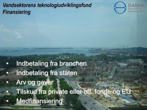 15:55 Vandteknologifonden ved Direktør Carl Emil Larsen, DANVA