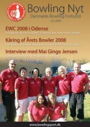 EWC 2008 i Odense Kåring af Årets Bowler 2008 Interview med Mai ...