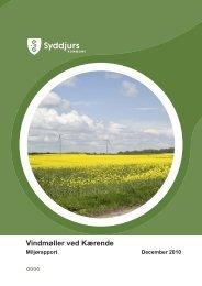Bilag 7 - Miljørapport dec.2010 Kærende.pdf - Syddjurs Kommune