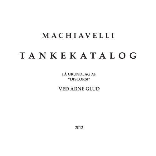 Samlet udgave af bogen - PDF 2 MB - Arne Glud