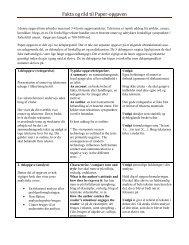 Fakta og råd til Paper-opgaven