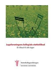 Legeforeningens kollegiale støttetilbud - Helse Finnmark