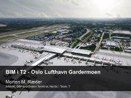 BIM i T2 - Oslo Lufthavn Gardermoen - iBIM