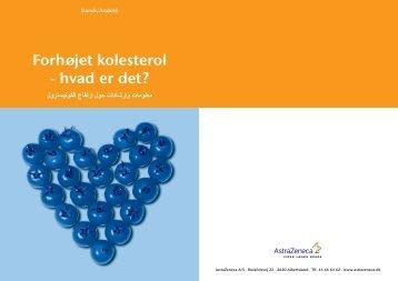 3688 Crestor Kolesterol Arabisk - AstraZeneca A/S