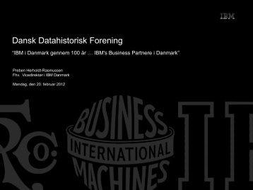 Prebens - Dansk Datahistorisk Forening