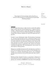 Redegørelse 2012 - Forsvarets Efterretningstjeneste
