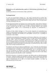 27. oktober 2008 EM 2008/80 Redegørelse om de ... - Inatsisartut