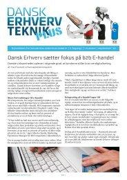 Dansk Erhverv sætter fokus på b2b E-handel