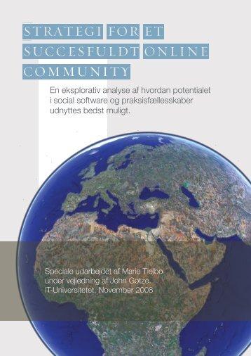 En eksplorativ analyse af hvordan potentialet i social software og ...