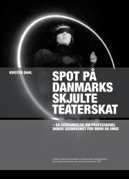SPOT På DANMARKS SKJULTE TEATERSKAT - Kunst.dk