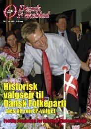 Historisk valgsejr til Dansk Folkeparti