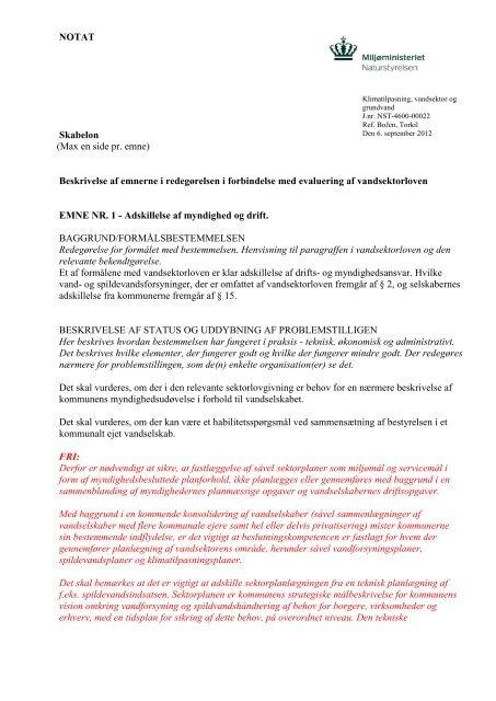 Læs FRI's brev til Miljøministerie - Foreningen af Rådgivende ...