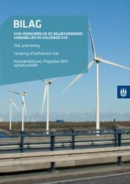 Se Bilag til redegørelse og miljøvurdering på vindmøler på ... - hofor