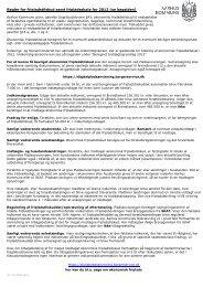 Regler for fripladstilskud samt fripladsskala for 2012 (se ... - Aarhus.dk