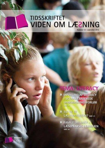 TEMA: LITERACY - Viden om Læsning