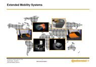Extended Mobility Systems