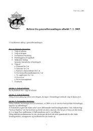 Referat 2005 - Vestsjællands Akvarie- og Terrarieklub