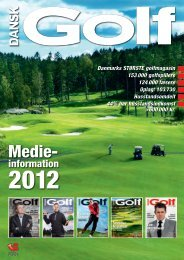 Medie- - Dansk Golf Union