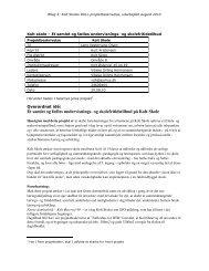 Ét samlet og fælles undervisnings- og skolefritidstilbud på Kolt Skole