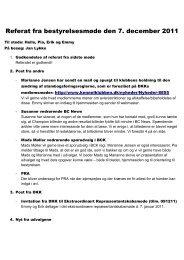 Referat fra bestyrelsesmøde den 7. december 2011 - Border Collie ...