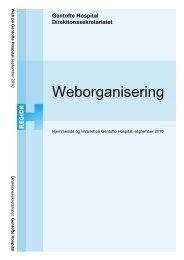 Weborganisering - Gentofte Hospital