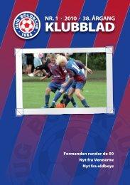 klubblad 1 / 2010 - Gug Boldklub