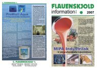 Mipa PUR industrilak - C. Flauenskjold A/S