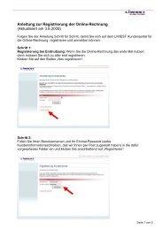 Anleitung zur Einrichtung eines LIWEST E-Mail-Kontos im Outlook ...