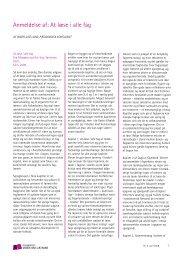 Anmeldelse af: At læse i alle fag - Viden om Læsning