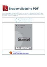 Brugsanvisning BLAUPUNKT ORLANDO MP46