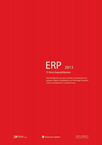 ERP 2013 - Økonomisk Ugebrev