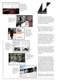 Jazz Special er Danmarks største musikblad med redaktionelt fokus ...