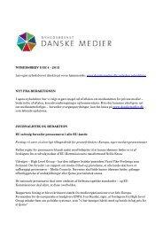 NYHEDSBREV UGE 4 - 2013 Læs også nyhedsbrevet direkte på ...
