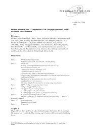 6. oktober 2008 AKB Deltagere: Lisbeth Michala Keldsen (IDA ... - CFU