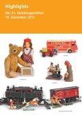 Highlights der 51. Spielzeugauktion 10. Dezember ...  - Antico Mondo - Seite 2