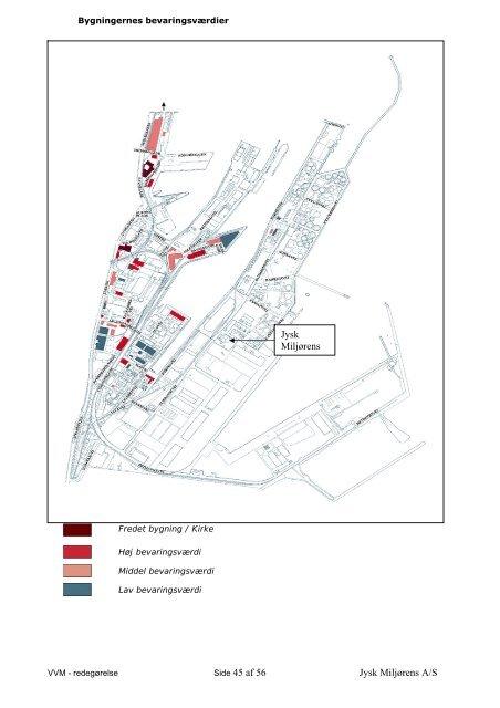 vvm – redegørelse for jysk miljørens a/s oliehavnsvej 18 8000 århus c