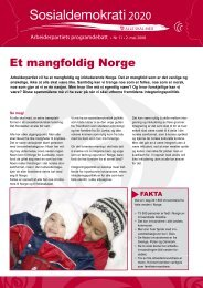 Et mangfoldig Norge.pdf - Arbeiderpartiet