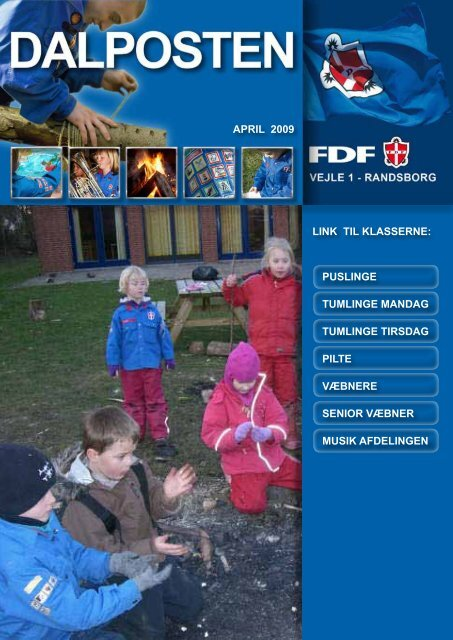 APRIL 2009 LINK TIL KLASSERNE: PUSLINGE ... - Dalposten