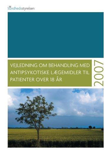 vejledning om behandling med antipsykotiske lægemidler til ...
