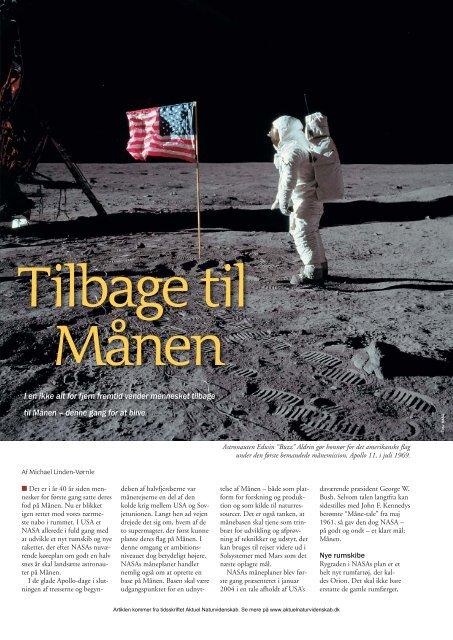 I en ikke alt for fjern fremtid vender mennesket tilbage til Månen - Elbo