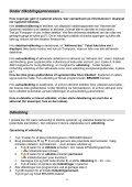 Brugermanual til Oasis - Dansk Alarm Sikring - Page 4